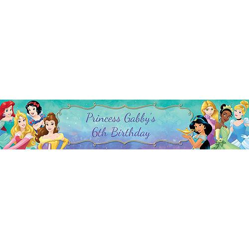 Custom Once Upon a Time Disney Princess Table Runner Image #1