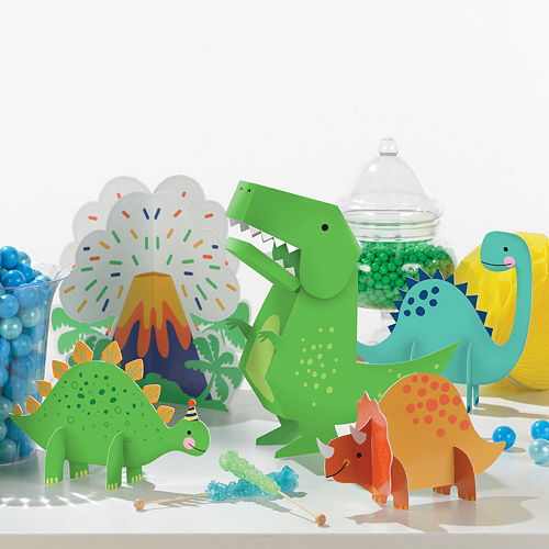 Dino-Mite Birthday Tableware Kit for 32 Guests Image #10