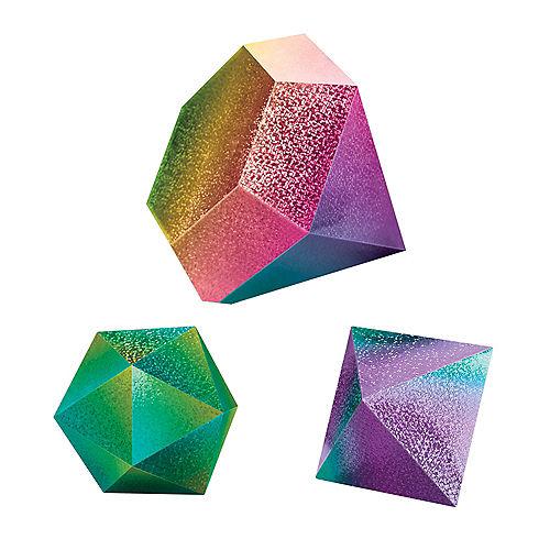 Prismatic Sparkle Jewel Table Decorations, 3pc Image #1