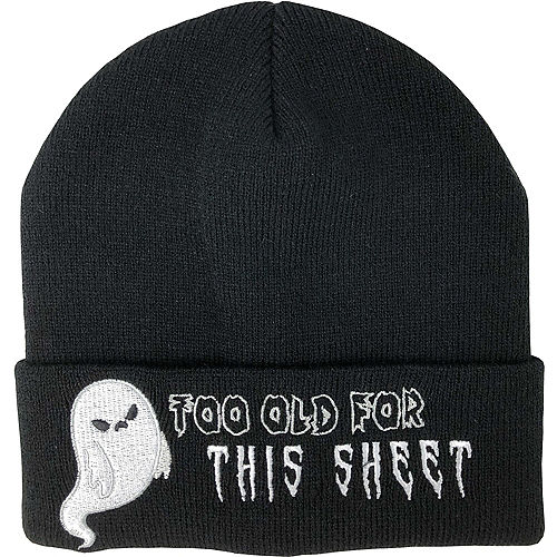 Too Old For This Sheet Beanie Image #1