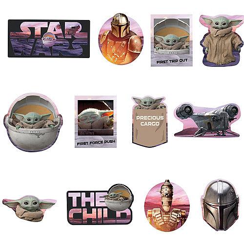 The Child Cutouts 12ct - The Mandalorian Image #1