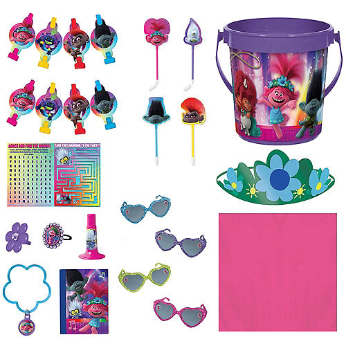 Trolls World Tour Ultimate Party Favor Kit for 8 Guests Image #1