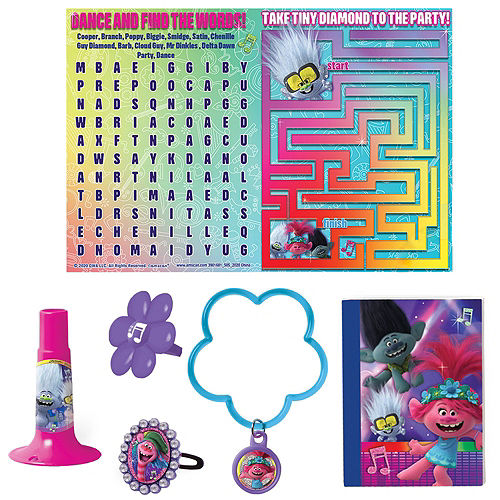 Trolls World Tour Ultimate Party Favor Kit for 8 Guests Image #4