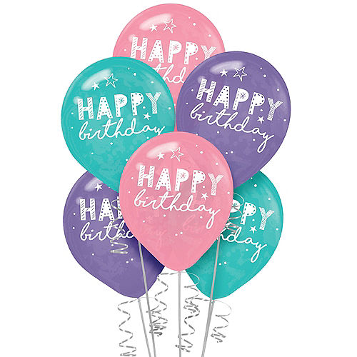 Girl-Chella Balloons, 12in, 6ct Image #1