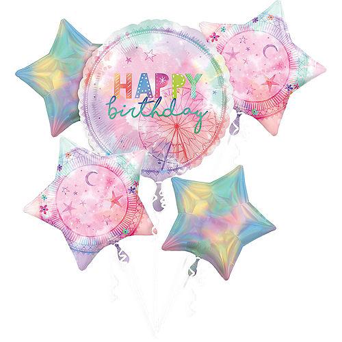 Girl-Chella Balloon Bouquet, 5pc Image #1