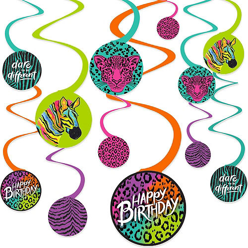Wild Child Birthday Tableware Kit for 8 Guests Image #8