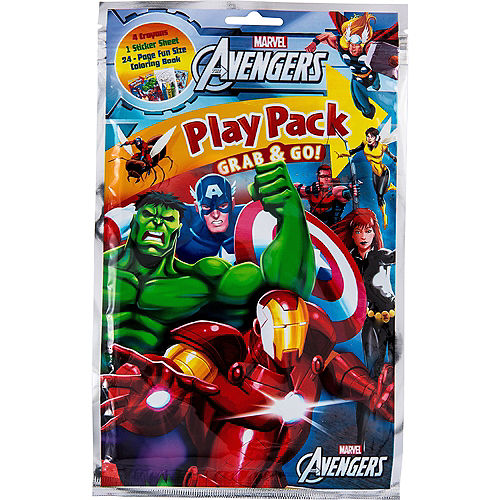 Avengers Activity Kits 6ct Image #1