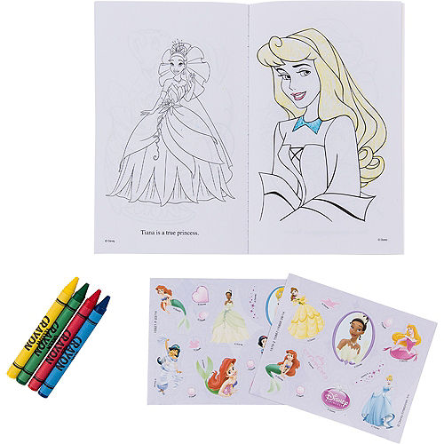 Disney Princess Activity Kits 12ct Image #2