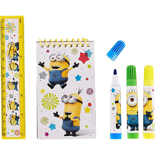 Despicable Me Stationery Sets 6ct Image #1