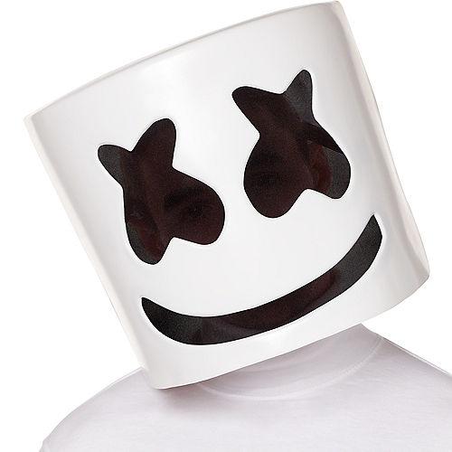 Light-Up DJ Marshmello Mask Image #1