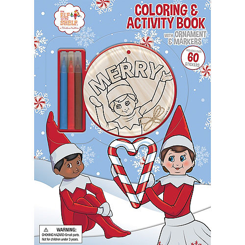The Elf on the Shelf® Coloring & Activity Book Image #1