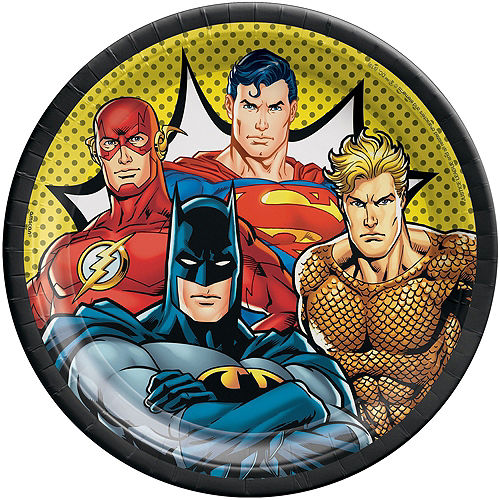 Justice League Heroes Unite Ultimate Tableware Kit for 24 Guests Image #3