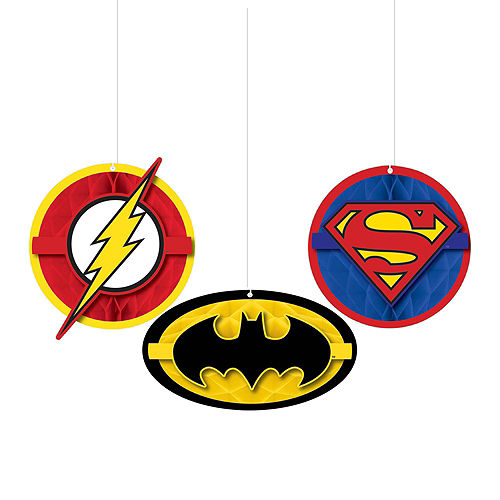 Justice League Heroes Unite Ultimate Tableware Kit for 24 Guests Image #14