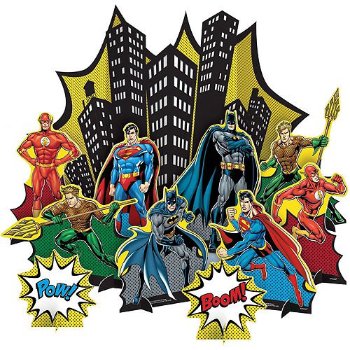 Justice League Heroes Unite Ultimate Tableware Kit for 24 Guests Image #16