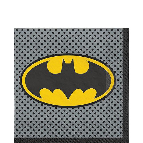 Justice League Heroes Unite Batman Tableware Kit for 8 Guests Image #5