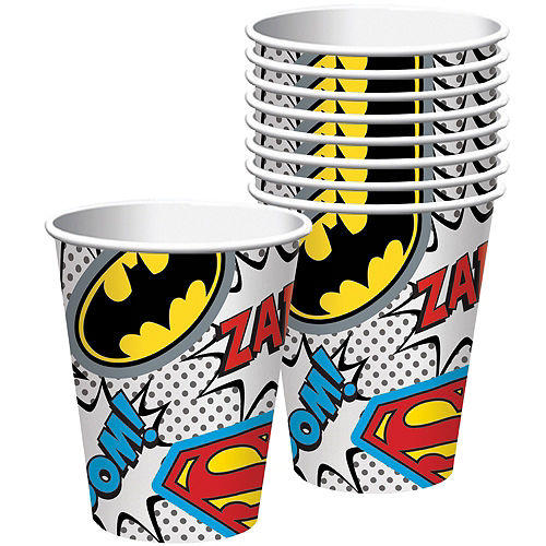Justice League Heroes Unite Superman Tableware Kit for 8 Guests Image #6