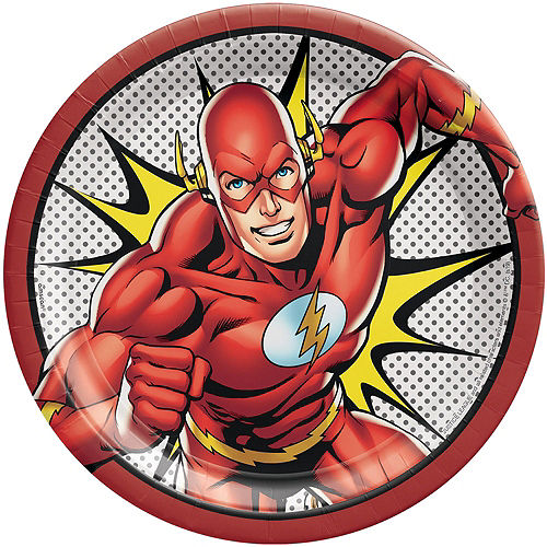 Justice League Heroes Unite The Flash Tableware Kit for 8 Guests Image #3
