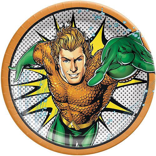 Justice League Heroes Unite Aquaman Tableware Kit for 8 Guests Image #3