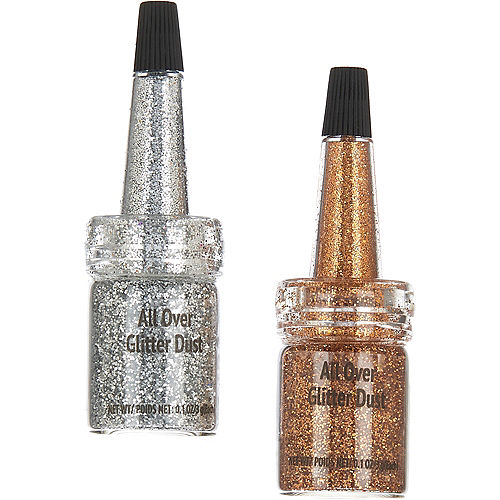 Gold & Silver All Over Glitter Dust Image #1