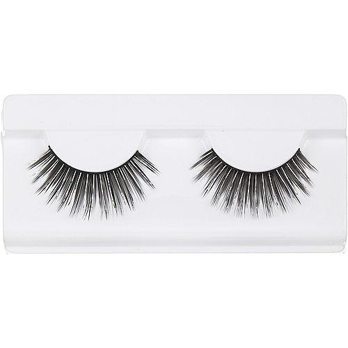 Black & Silver False Eyelashes Image #1