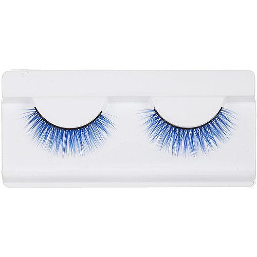 Blue False Eyelashes Image #1
