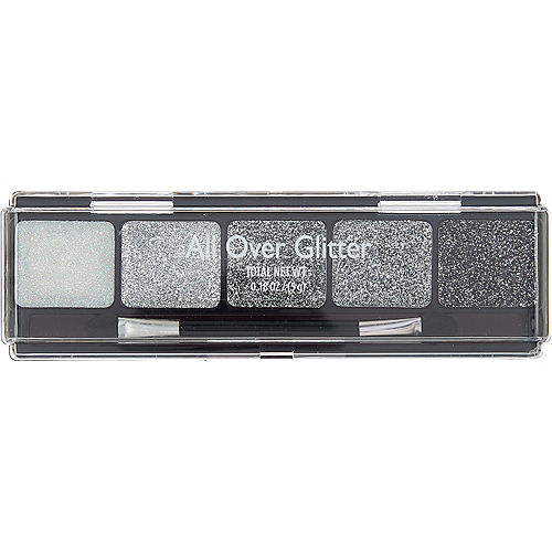 Silver All Over Glitter Makeup Palette Image #1