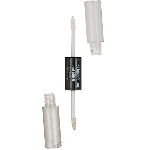 White & Glitter Eye Shadow Duo Image #1