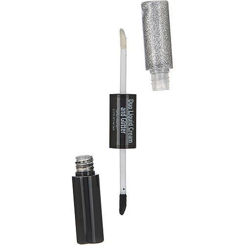 Black & Silver Glitter Eye Shadow Duo Image #1