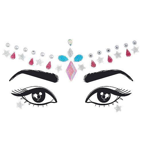 Glitter Crown Face Gems Image #1