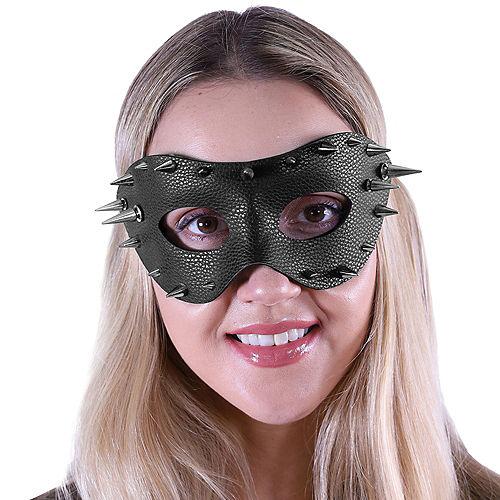 Black Studded Domino Mask Image #2