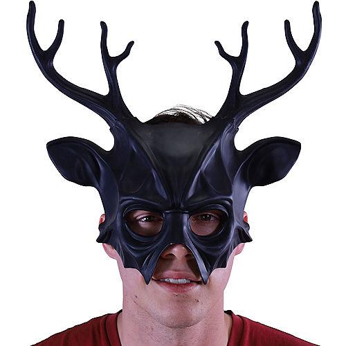 Black Druid Stag Mask Image #2