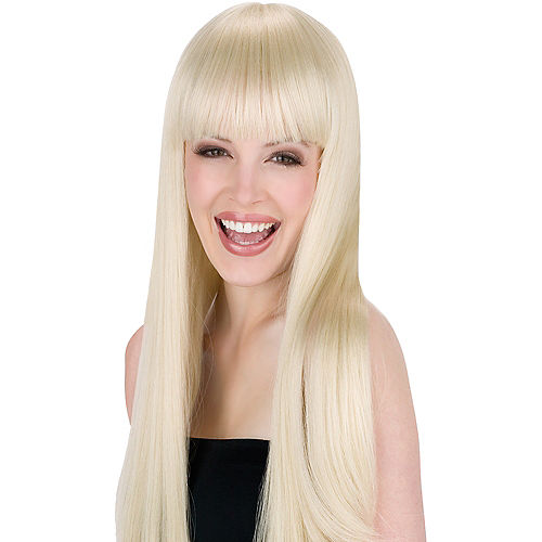 Got You Babe Blond Wig Image #1