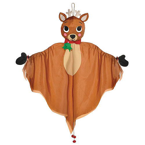 Hanging Fabric Reindeer, 48in Image #1