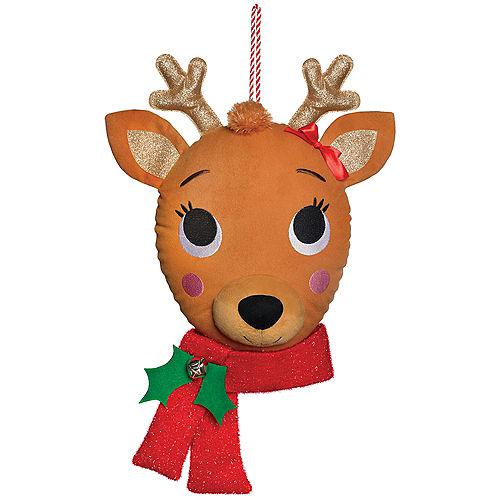 Reindeer Head Plush Image #1