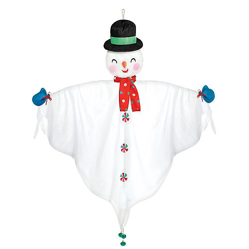 Hanging Fabric Snowman, 48in Image #1