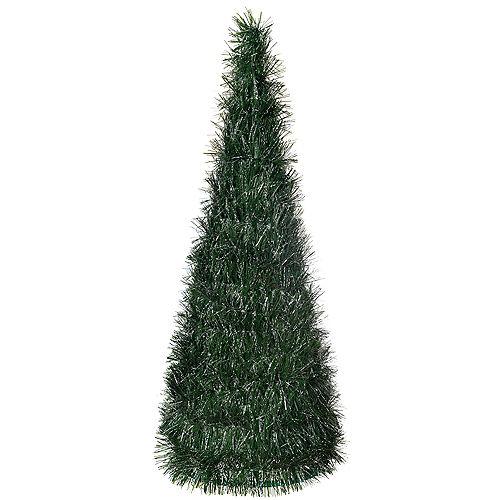 Large Tinsel Pine Tree Image #1