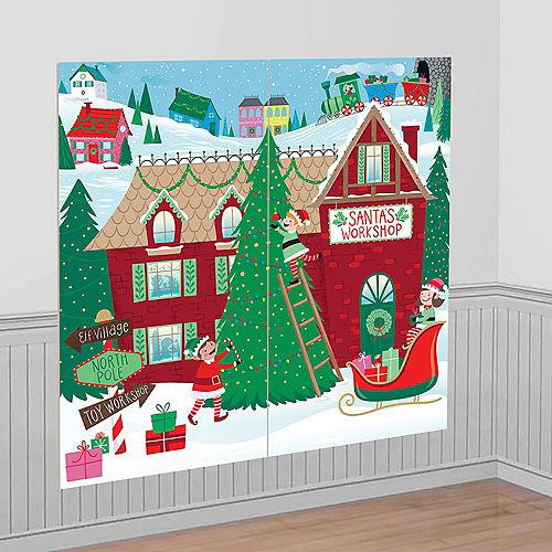 Santa's Workshop Scene Setter Image #1