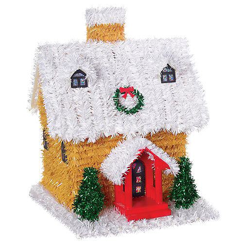 3D Tinsel Gingerbread House Image #1