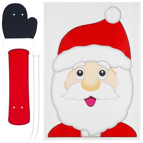 Waving Santa Window Wiper Decal Image #2