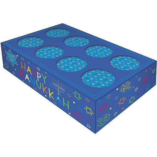 Eight Happy Nights Hanukkah Mystery Punch Box Pinata Image #1