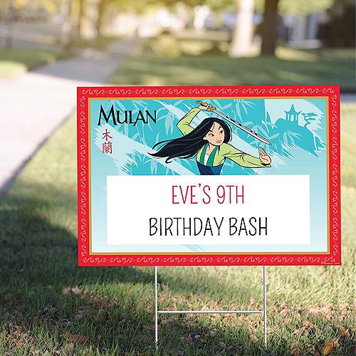 Custom Mulan Yard Sign Image #1