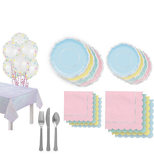 Pretty Pastel Party Kit for 16 Guests Image #1