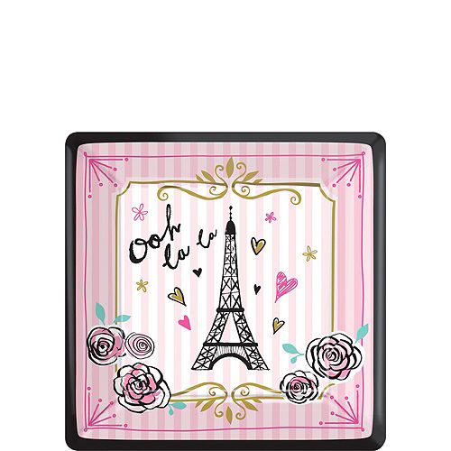 A Day in Paris Tableware Kit for 16 Guests Image #2