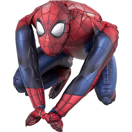 Air-Filled Sitting Spider-Man Balloon, 20in Image #2