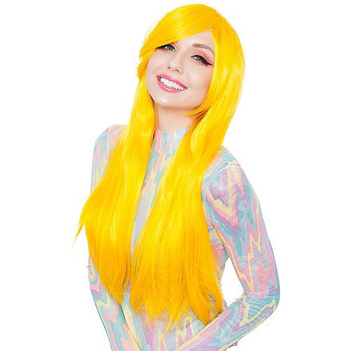 Bright Yellow Wig Image #1
