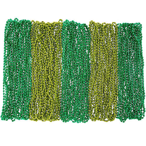 Green Bead Necklaces 300ct Image #1