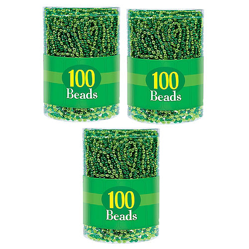 Green Bead Necklaces 300ct Image #2
