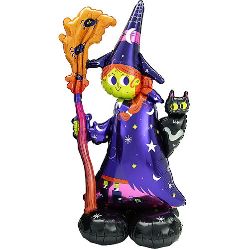 AirLoonz Halloween Witch Balloon, 55in Image #1