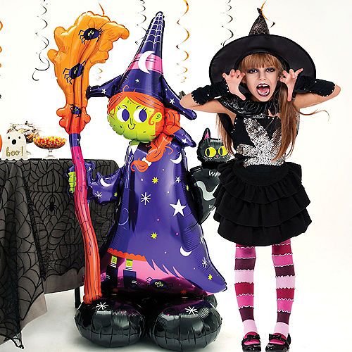 AirLoonz Halloween Witch Balloon, 55in Image #2