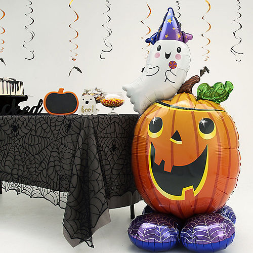 AirLoonz Jack-o'-Lantern & Ghost Balloon, 56in Image #2